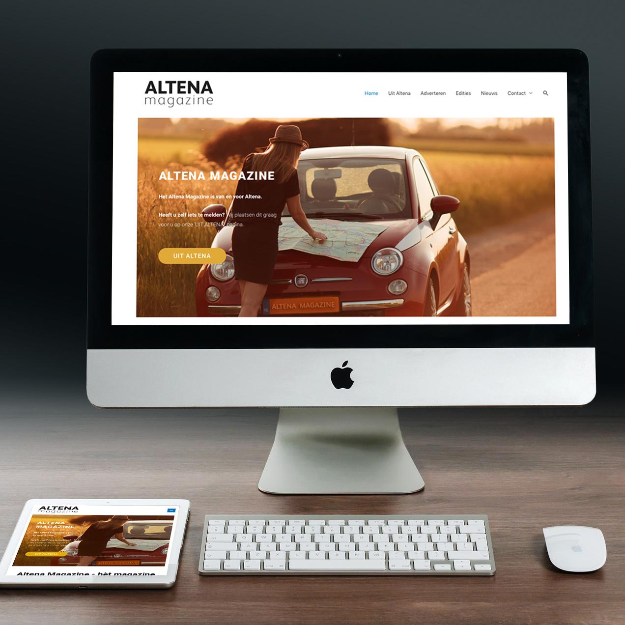 website Altena Magazine